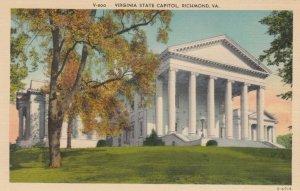 RICHMOND , Virginia , 30-40s ; Virginia State Capitol