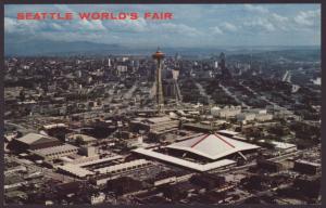 Bird's Eye View,Seattle World's Fair,WA Postcard
