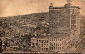 New York Binghampton Panoramic View 1908