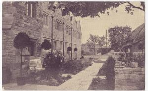 Worcestershire; Broadway, Courtyard Of The Lygon Arms PPC 1914 PMK, By Russell