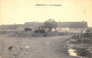 Marcilly France - Les Planches Postcard