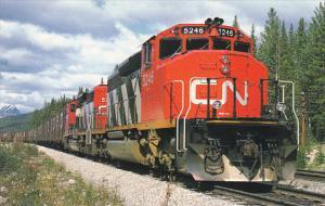 Canadaian National Railways Freight Train Locomotive SD-40-2W #5246