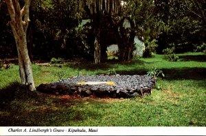 Hawaii Maui Kipahula Charles A Lindbergh's Grave