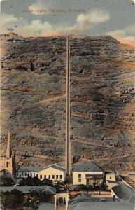 Jacobs Ladder 700 Steps St Helena Island Postcard