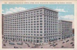 Illinois Chicago Marshall Field & Companys Retail Store State Washington ...
