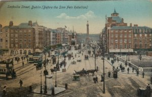 DUBLIN, Ireland , 1900-10s ; Sackville Street (Before the Sinn Fein Rebellion)