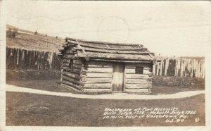 RP: UNIONTOWN , Pennsylvania , 1942 ; Fort Necessity Blockhouse