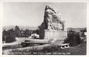 RP: SALT LAKE CITY , Utah , 30-40s ; Morman Battalion Monument