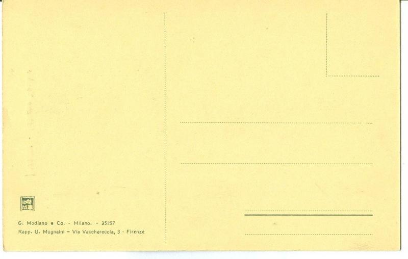 Italy, Firenze, Palazzo Vecchio, early 1900s unused Postcard