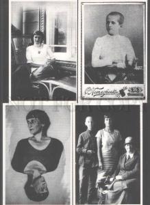 103209 ANNA AKHMATOVA Russian Poetess POET Collection 8 Cards