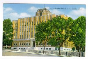 U. S. Forest Service Building, Ogden, Utah Unused Kropp PPC