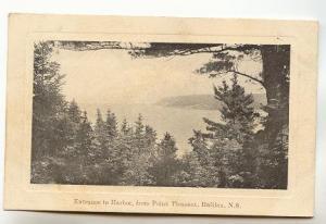 Harbor, Harbour, Point Pleasant Halifax Nova Scotia, Used 1906