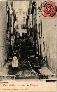 CPA Vieux Beziers - Rue du Calvaire (255477)