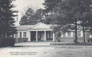 South Carolina Tamassee Adele Erb Sullivan Building Artvue