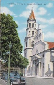 Florida St Augustine Cathedral Church 1951