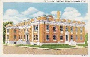 South Carolina Orangeburg Orangeburg County Court House Curteich