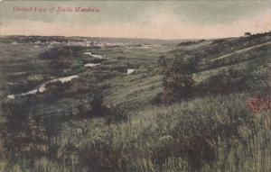 Canada Manitoba Distant View Of Birtle