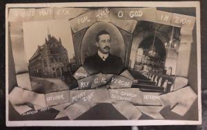 Mint England Religious PPC Postcard Church Clitheroe  Rev G R Vergoe