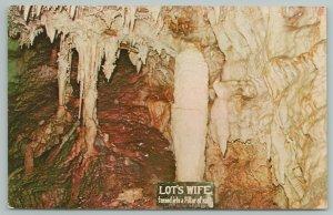 Dubuque IA~Crystal Lake Cave~Lots Wife~Ref Pillar Of Salt~Stalagmites~Vintage PC