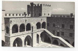 RPPC Greece Rhodes Knights Palace Real Photo Post Card