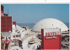 California Long Beach R M S Queen Mary The Queen Mary Hotel and Spruce Goose ...