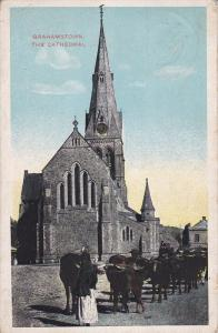 GRAHAMSTOWN, South Africa, 1900-1910's; The Cathedral