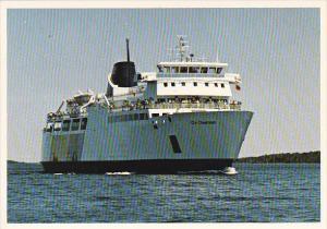 Canada Ferry M S Chi-Cheemaun British Columbia