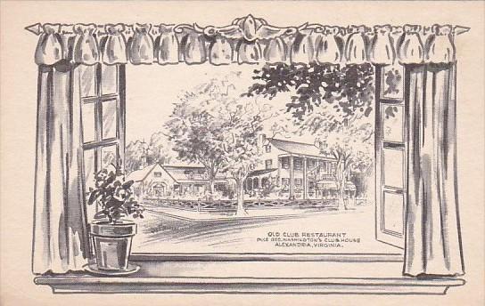 Old Club Restaurant Alexandria Virginia