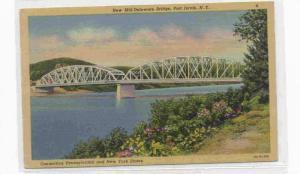 New Mid-Delaware Bridge, Port Jervis, New York, 1930-1940s