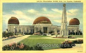Planetarium, Griffith Park, Los Angeles, CA, USA Space Unused