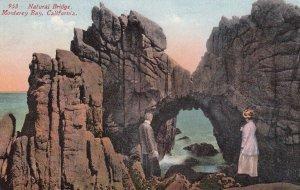 MONTEREY BAY , California, 1900-10s ; Natural Bridge