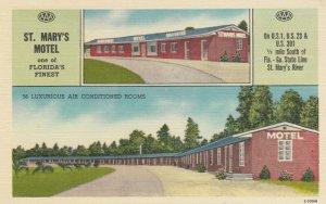 JACKSONVILLE , Florida, 1930-40s ; St Mary's Motel