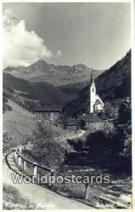 Austria Tibbertal im Montafoo  Real Photo