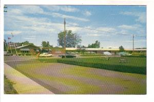 The Parkview Motel and Restaurant, 50's Car, Guelph, Ontario, Mrs. J Hasson