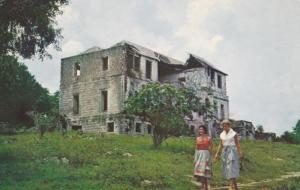 JAMAICA, 1940-60s; Ruins of Rose Hall Estate Great House