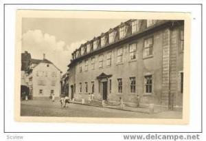 RP Weimar, Goethehaus am Flauenplan, PU 1955 (East German Stamp)