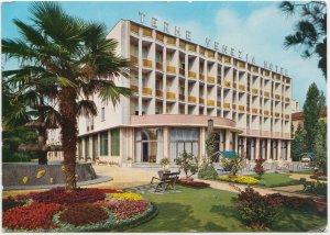 TERME VENEZIA HOTEL, ABANO TERME, Padova, Italy, 1971 used Postcard