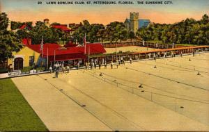Florida St Petersburg Lawn Bowling Club