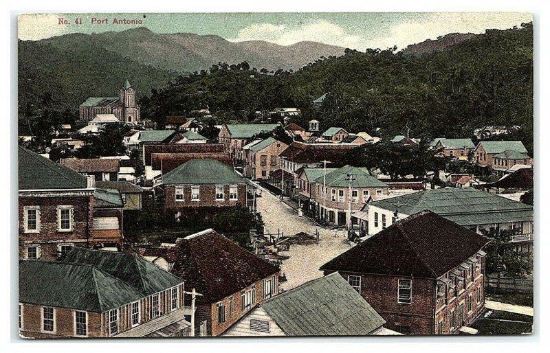 Port Antonio, Jamaica Postcard *7C19