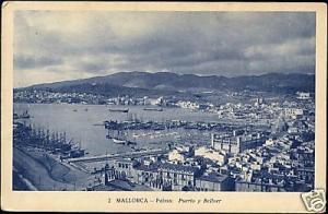 spain, MALLORCA PALMA, Puerto y Bellver (1930s)