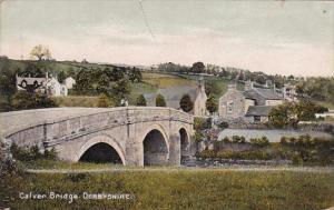 England Debyshire Calver Bridge