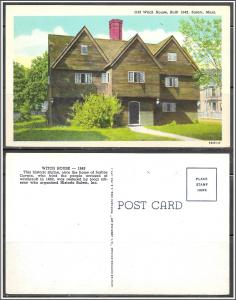 Massachusetts, Salem Old Witch House - [MA-558]