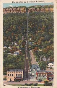 Tennessee Chattanooga The Incline Up Lookout Mountain 1950