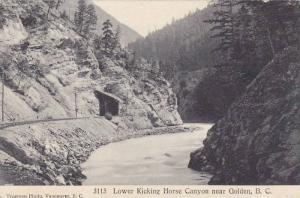 Lower Kicking Horse Canyon near GOLDEN , British Columbia , Canada , 00-10s B...
