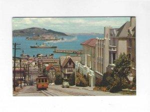 Vtg 50's/60's Cable Car, Hyde Street, San Francisco, California Pos...