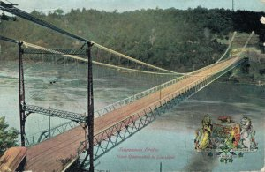 USA Suspension Bridge from Queenston la Lewiston 04.22