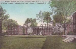 North Carolina Greensboro Winfield &  Weil Halls Univ Of North Carolina Al...