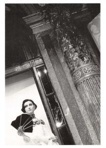 Postcard Anne - Grand Hotel, Paris, France, 1984 by Francoise Huguier #55515