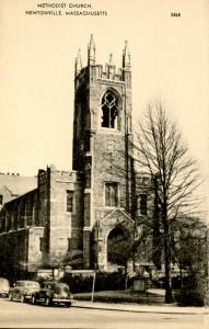 MA - Newtonville. Methodist Church