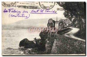Old Postcard Candle Road has Djidjelli